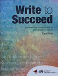 Write to succeed : expressive and practical writing for high school and beyond / Sara Stein ; pedagogical director, Judy Rapoport ; Arabic translations, Mhammad N. Tarabieh ; illustration, Avi Katz – הספרייה הלאומית